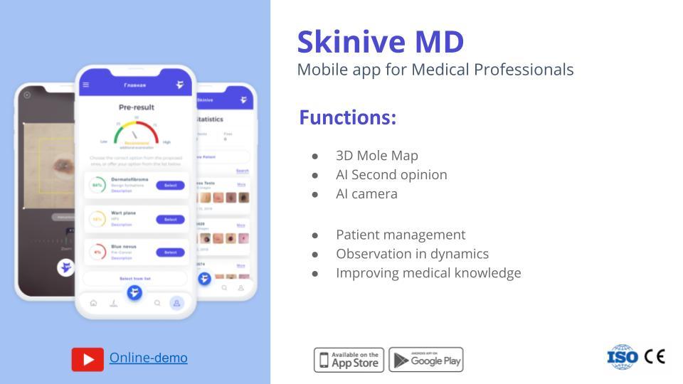 Digital Dermatology App